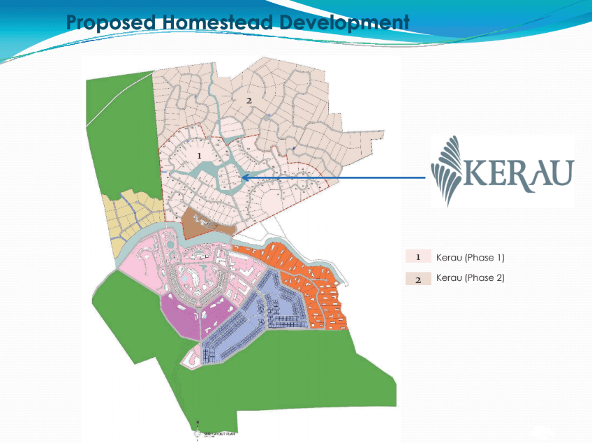 kerau homestead development
